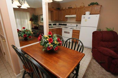Whispering Pines Condos WP311-1 King Bedrooms (Master w/ Jacuzzi), 1 Full Baths